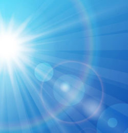 Could the sun's radiation helps solve the issue of Microplastics