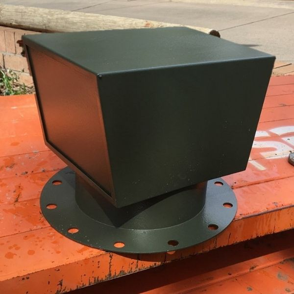 Custom induct vent cowl