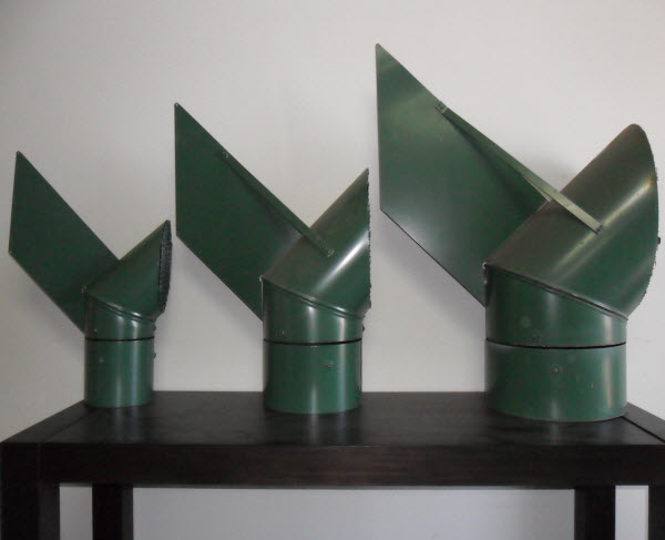 Varying sizes of Rotating Induct Cowls