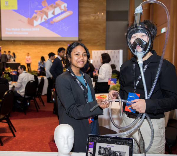 SVSR Wins with 2019 UNSW Maker Games